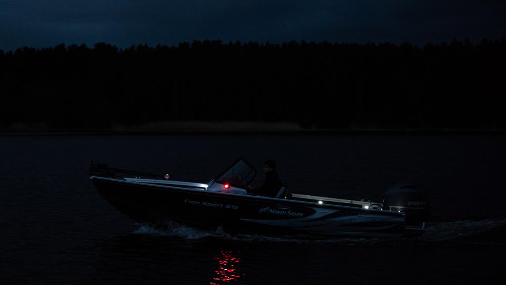 615 Fish vene pimeässä